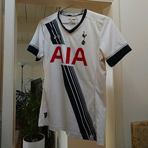 Womens Tottenham Hotspur F.C. Jersey. M 5af3a6378af1c58e8cf6bd61 834d089de5